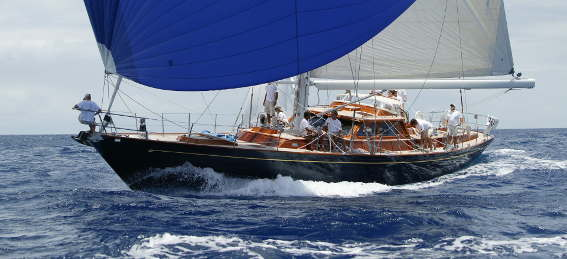 Hinckley 70, production composite sailing yacht