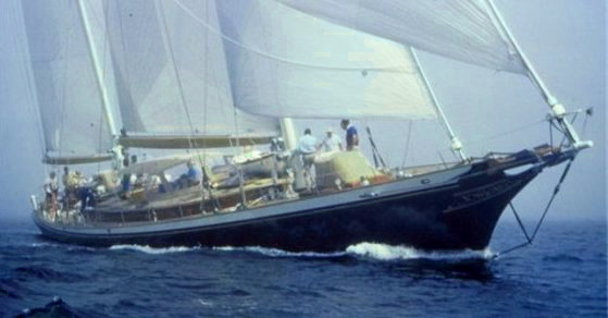 Signe, 100' cold-molded ketch