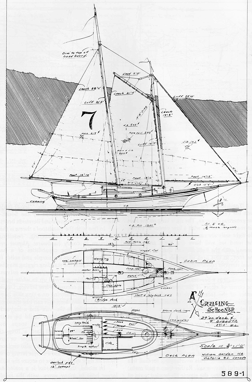 William Garden Schooner