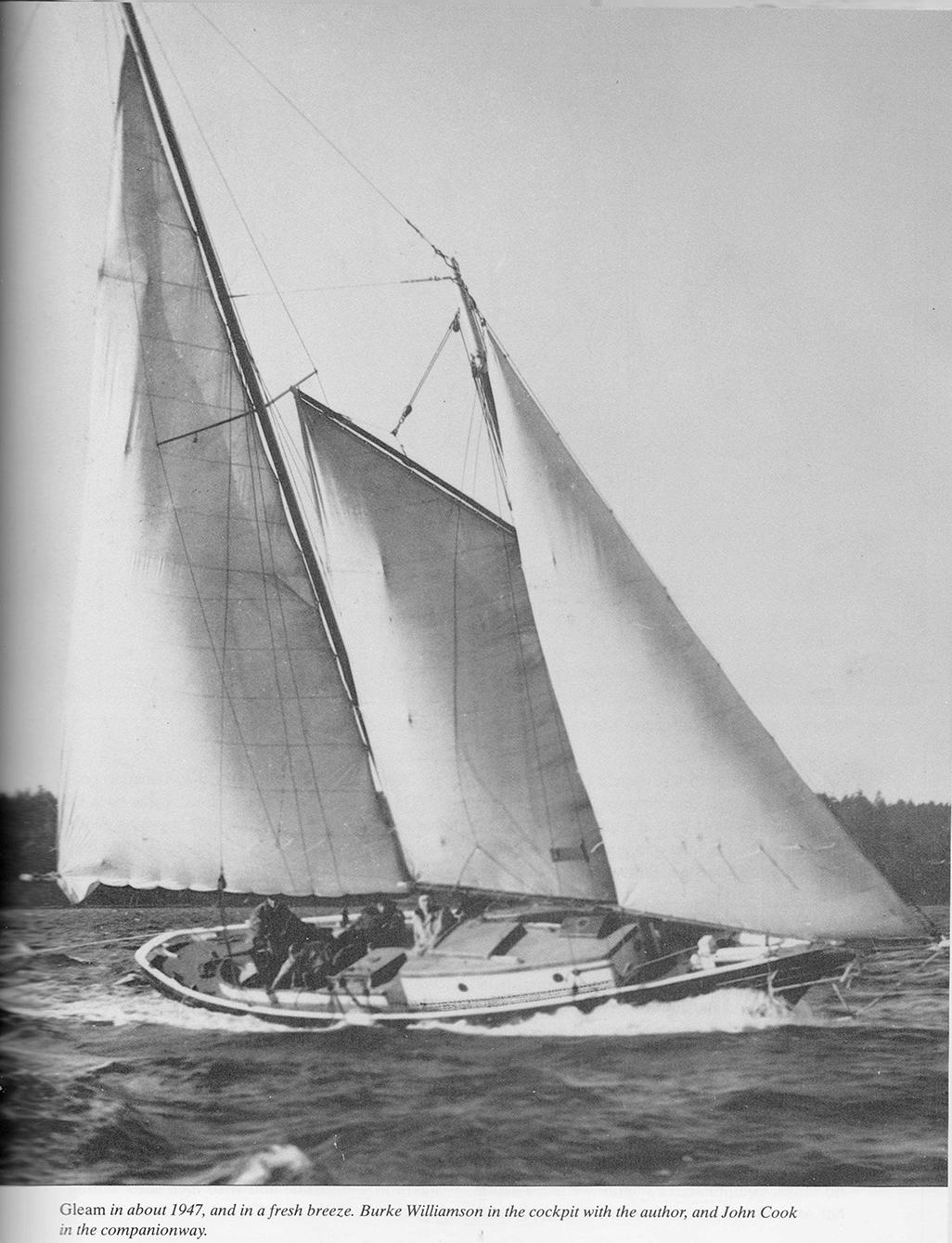 A celebration of small schooners for 68 garden design gaff rigged schooner