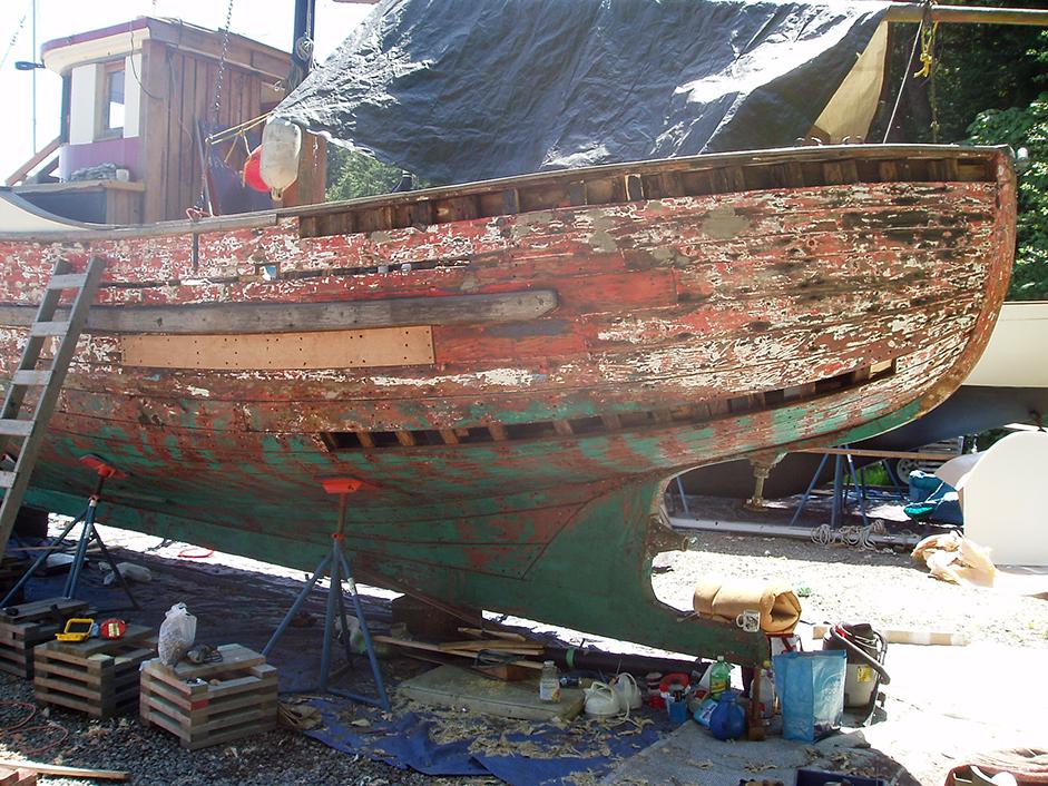 Pacific northwest troller for Garden design troller boat