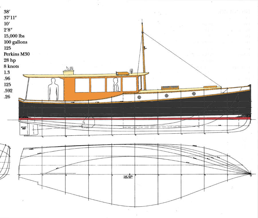Memory 44 classic express motor yacht power boat for Yellow wood plans