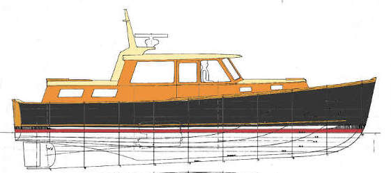White Pine 38 Lobsteryacht
