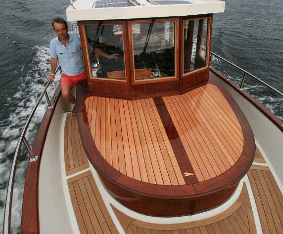 Ironbark 28' Traditional Displacement Boat