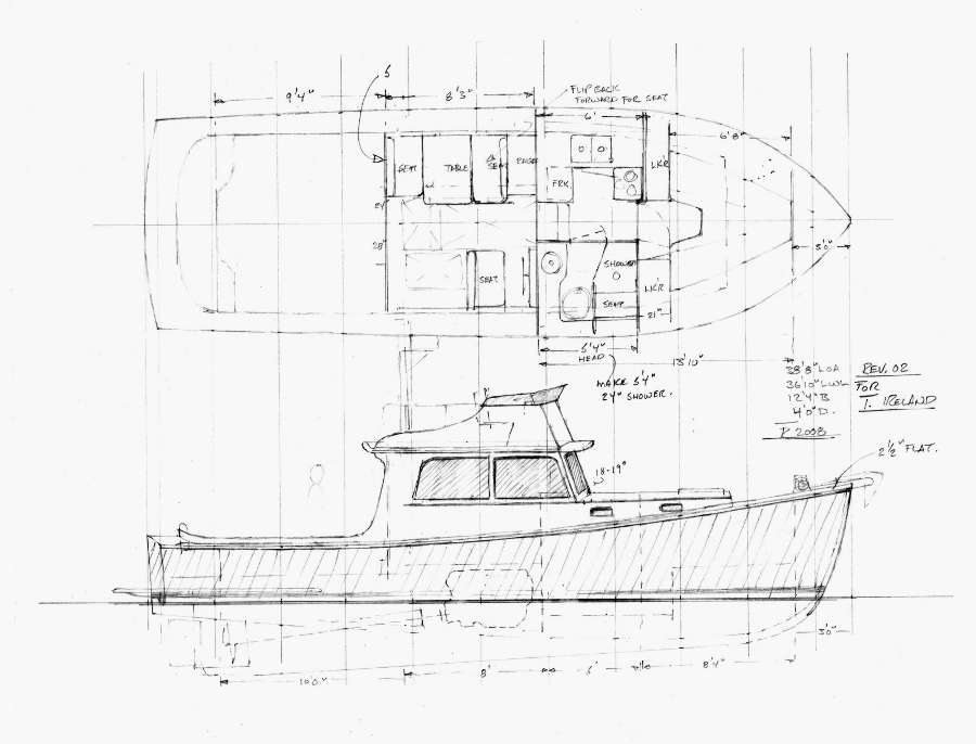 Power Boat Designs Over 30 Tad Roberts Yacht Design