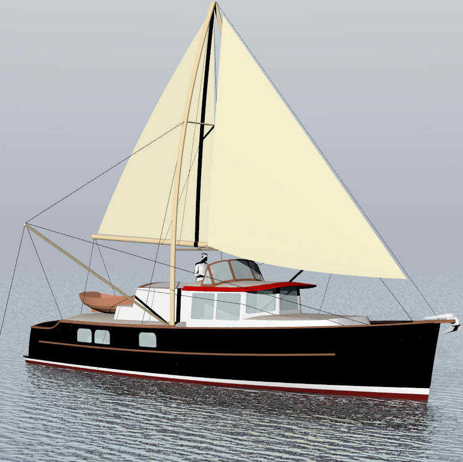 Passagemaker Lite 46plus, fast, seaworthy, fuel-efficient