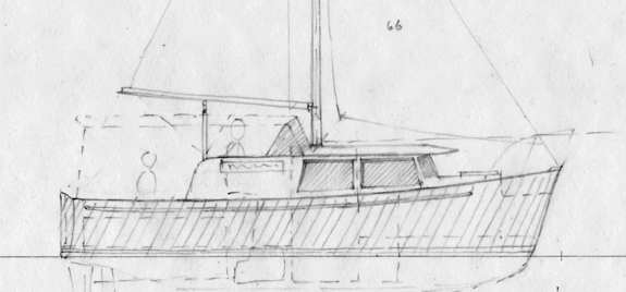 Garden Bay 23  Full Displacement, Trailerable Motor Boat