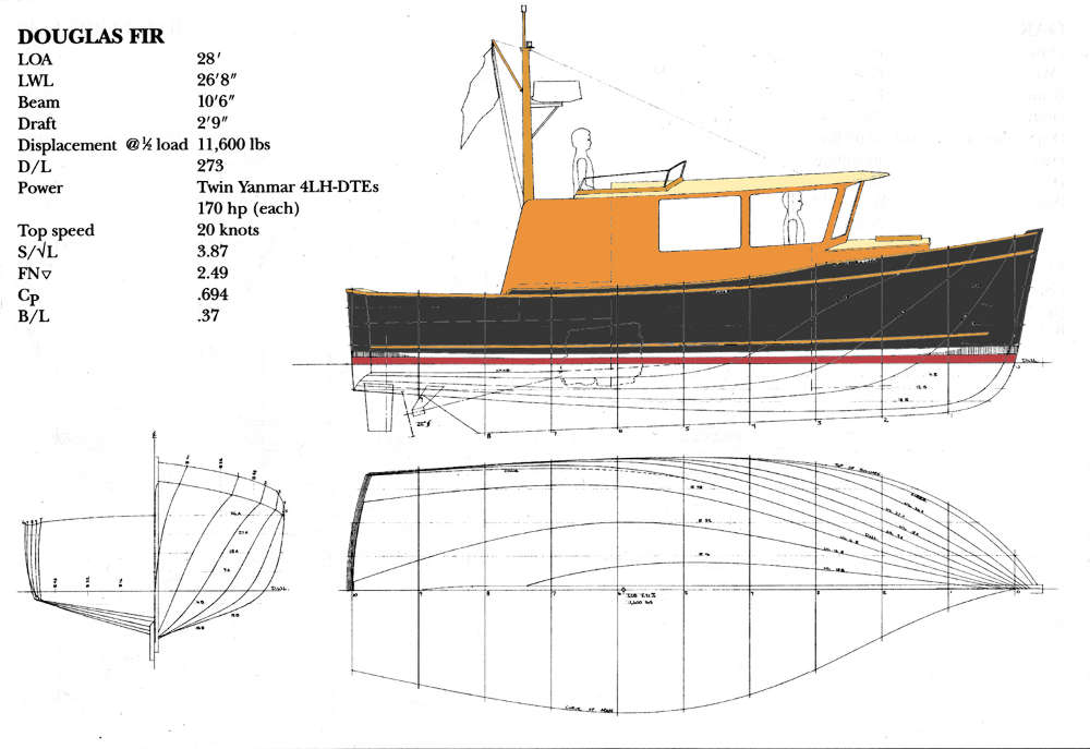 Planing and Semi-displacement Power Boats Under 29'~ Tad ...