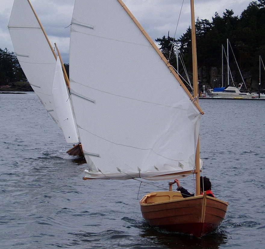 Pogy, 12' Sailing Dinghy ~ Sail and Oar Boats ~ Tad ...