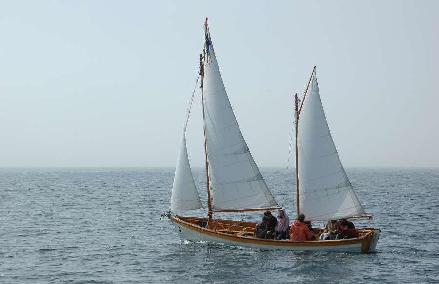 Tern, 24' Gaff-rigged Lapstrake Exploration Ketch ~ Sail ...