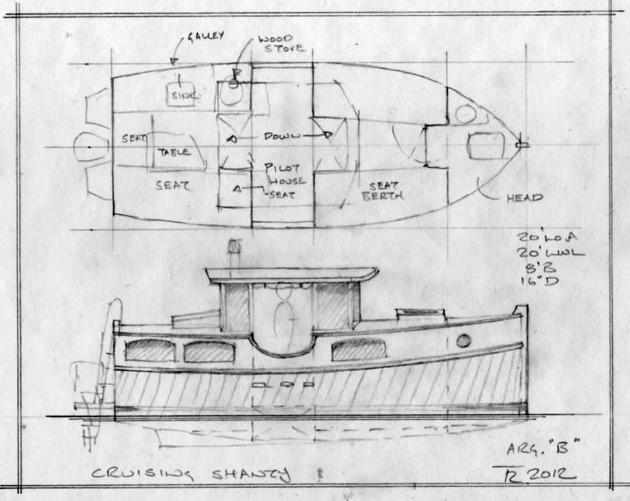 Small Self-Powered House Barges and Shanty Boats Under 29 ...